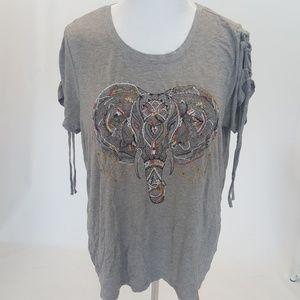 Elephant Design T shirt